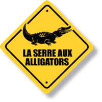 La serre des alligators
